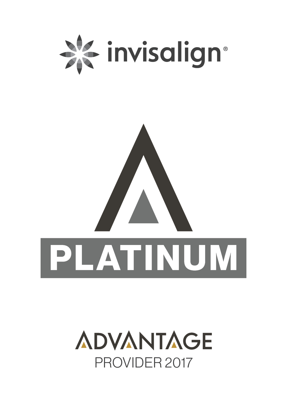 We are Invisalign Platinum Provider.