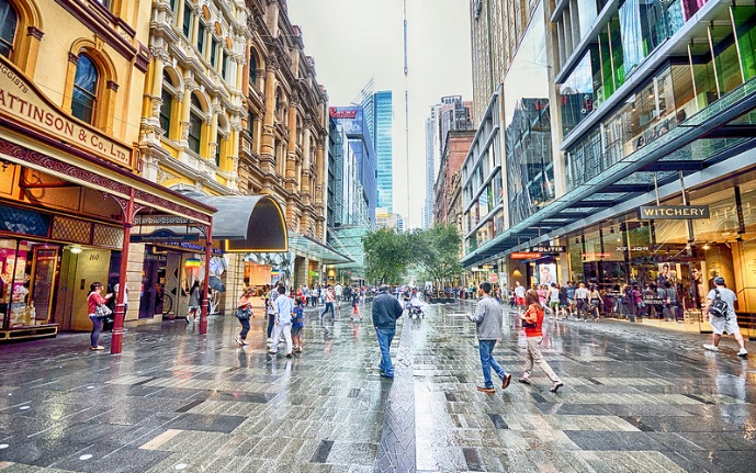 We are located closely to Pitt Street Mall.
