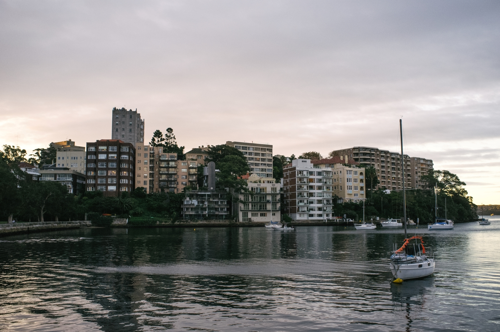 Potts Point's strong feature is its accessibility.