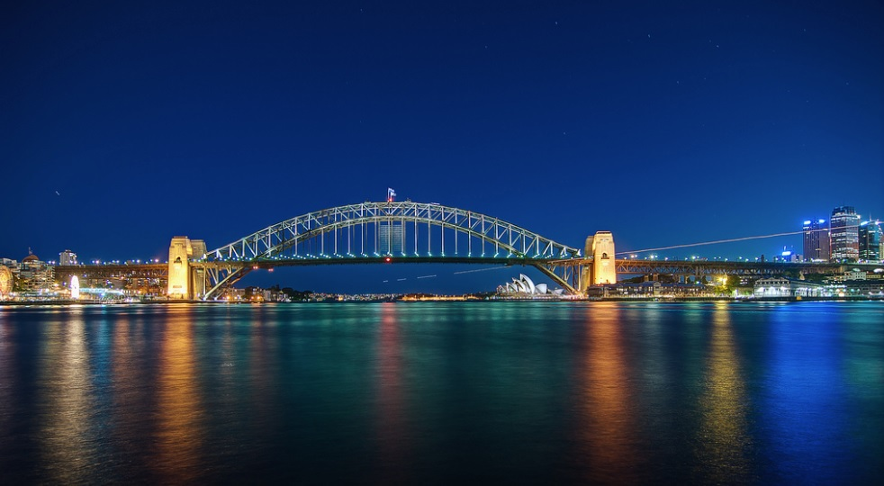 Sydney Harbour Bridge is one of Sydney's tourist attractions.
