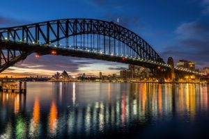 Sydney Harbour Bridge is just a few minutes drive from our dental clinic. in Sydney