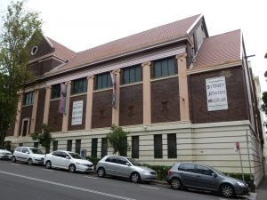 This museum is where we learn about Jewish people here in Sydney, Australia.