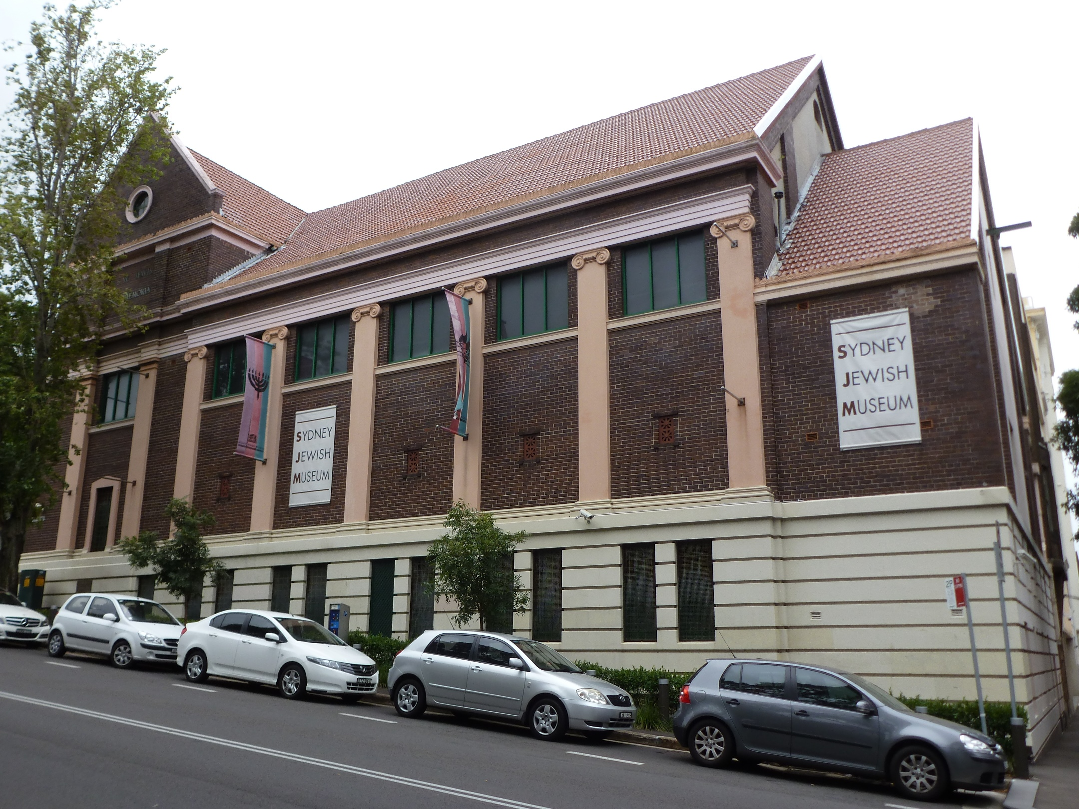 This museum is here we learn about Jewish people here in Australia.