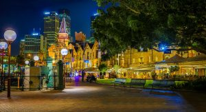 The Rocks is an urban locality and tourist precinct in Sydney.