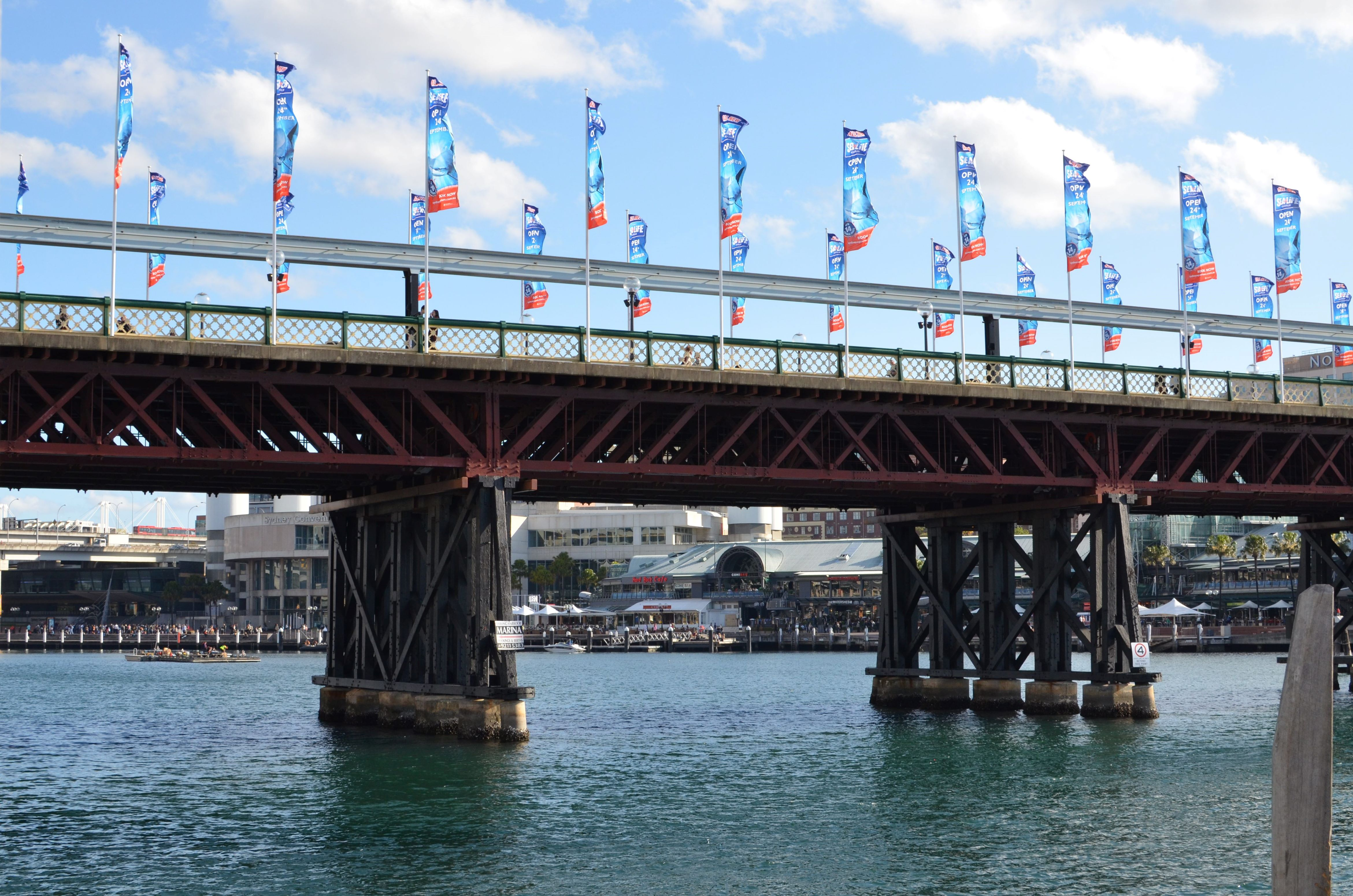 Don't miss the chance to visit the Pyrmont Bridge.