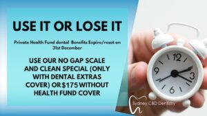 Use our No Gap Scale and Clean Special
